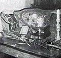 La coupe en argent offerte à Eugène-Henri Gravelotte pour sa victoire au fleuret individuel lors des Jeux Olympiques de 1896.jpg