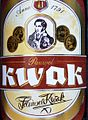 Label of Pauwel Kwak beer.JPG
