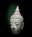 Labit - Tête de Bouddha, Ecole de Sukhothai Thaïlande, XIV siecle, Bronze Inv. 71 3 1 Achat.jpg
