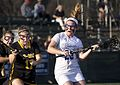 Lacrosse CNU Christopher Newport University Captains Randolph-Macon Yellow Jackets women's lacrosse (25375846713).jpg