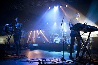 Ladytron - Ladytron performing live in London, 2011