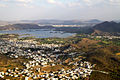 Lakes and Udaipur City Rajasthan India March 2015 d.jpg