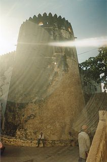 Lamu Fort Fortress in northeastern Kenya
