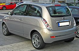 Lancia Ypsilon Facelift rear.JPG