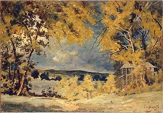 Landscape, Binghamton, New York