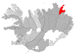 Location of the Municipality of Langanesbyggð