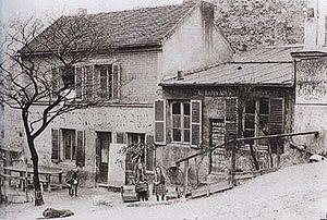 Lapin Agile - Au Lapin Agile, ca 1880-90