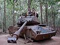 Lascar Destroyed American tank - Cu Chi (4608010712).jpg