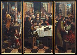 Last Supper (Fernandes) - Image: Last supper Vasco Fernandes