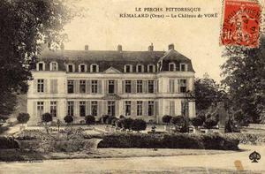 Claude Adrien Helvétius - Château de Voré (Collines des Perches, Loir-et-Cher)