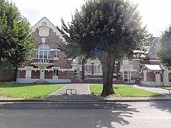 Le Verguier (Aisne) mairie et école.JPG
