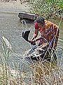 Le lavage du linge (Uthamapalayam, Inde) (13937642740).jpg