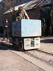 Lea Bailey Light Railway — Clearwell Caves (13056876615).jpg