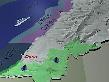 Lebanon history UNIFIL-Zone