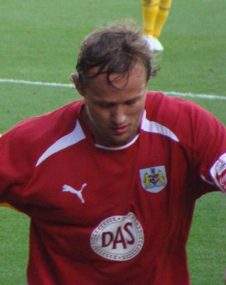 Lee Trundle - Trundle playing for Bristol City in 2008