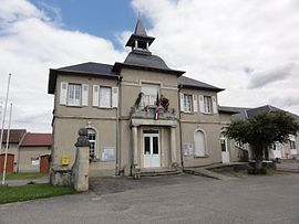 The town hall in Leintrey
