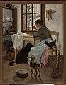 Leona Bierkowska, W izbie (1895).jpg