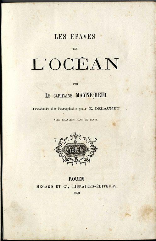 File Les Epaves De L Océan De Mayne Reid Page De Garde