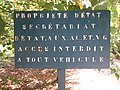 Les entonnoirs de Leintrey - Pancarte PROPRIETE D'ETAT.jpg