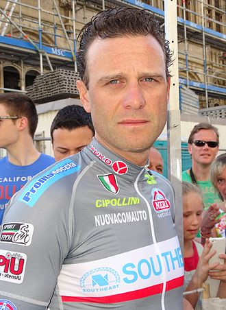 Alessandro Petacchi - Petacchi at the 2015 Brabantse Pijl.