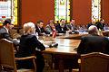 Lietuvas parlamenta delegācijas vizīte Saeimā (5588435808).jpg