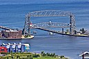 Lift Bridge Lifted, Duluth.jpg