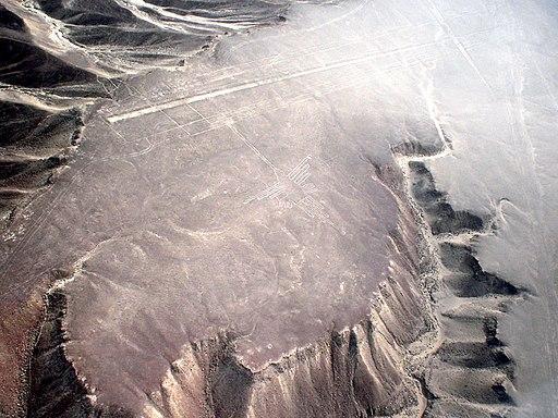 Lignes de Nazca Décembre 2006 - Colibri 1