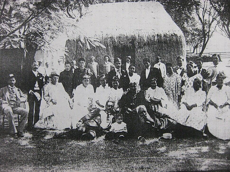 Liliuokalani at Waipio, Oahu in 1891