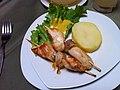 Lima (Perú) - Restaurante El Embrujo - Brochetas de pollo.jpg