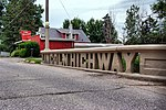The Lincoln Highway bridge in Tama