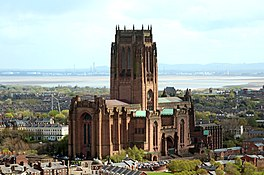 Liverpool Anglican Cathedral from St John's Beacon 2.jpg