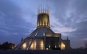 Image illustrative de l'article Cathédrale métropolitaine du Christ-Roi de Liverpool