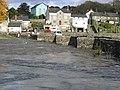 Llechryd Bridge (during flood) - geograph.org.uk - 71820.jpg