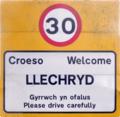 Llechryd Roadsign.png