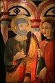 Lo scheggia, madonna col bambino in trono e santi, 1460-70 ca., 04 pietro.jpg