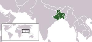 Names of Bengal - Image: Location Bangla 01