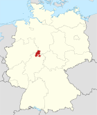 Locator map KS in Germany.svg