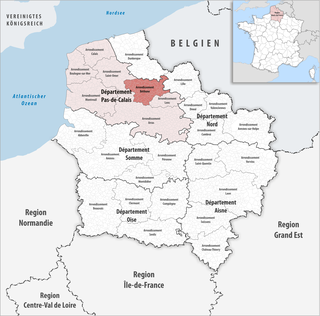Arrondissement of Béthune Arrondissement in Hauts-de-France, France