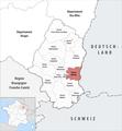 Locator map of Kanton Rixheim.png
