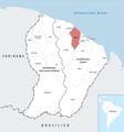 Locator map of Kourou 2018.png