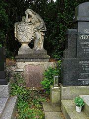 Náhrobek hraběnky W. Netolické z Eiseberka