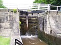 Lock gate, Five Rise Locks, Bingley - geograph.org.uk - 471326.jpg
