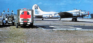 96th Test Wing - Image: Lockheed Vega B 17F 50 VE Fortress 1945