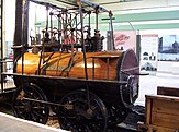 Locomotion No. 1 at the Darlington Railway Centre and Museum