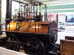 Steam locomotive - The Locomotion at Darlington Railway Centre and Museum