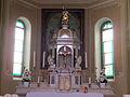 Lona - Chiesa della Decollazione di San Giovanni Battista - Tabernacolo.JPG