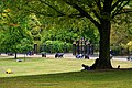 London - Kensington Gardens - The Broad Walk - View West towards Entrance of Kensington Palace.jpg