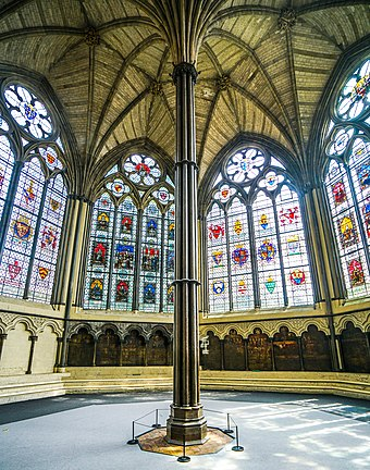 The chapter house London - Westminster abbey - chapter house 03.jpg