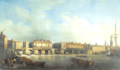 London Bridge before the alteration in 1757 by Samuel Scott.png