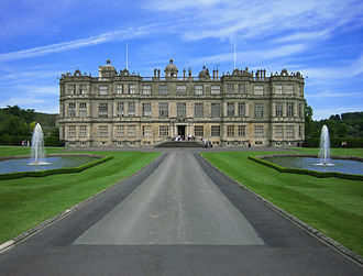 Great house - Longleat House, Wiltshire, seat of the Marquesses of Bath